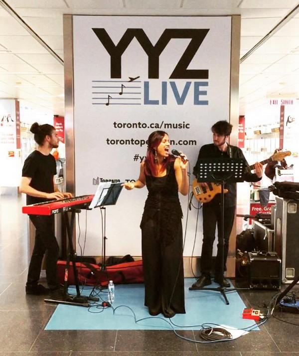 Shyann. YYZ Live 2017. Toronto Pearson Airport